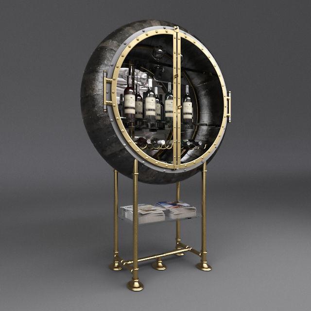 Porthole Bar Restorationhardware Model