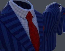 3D model game-ready Jacket