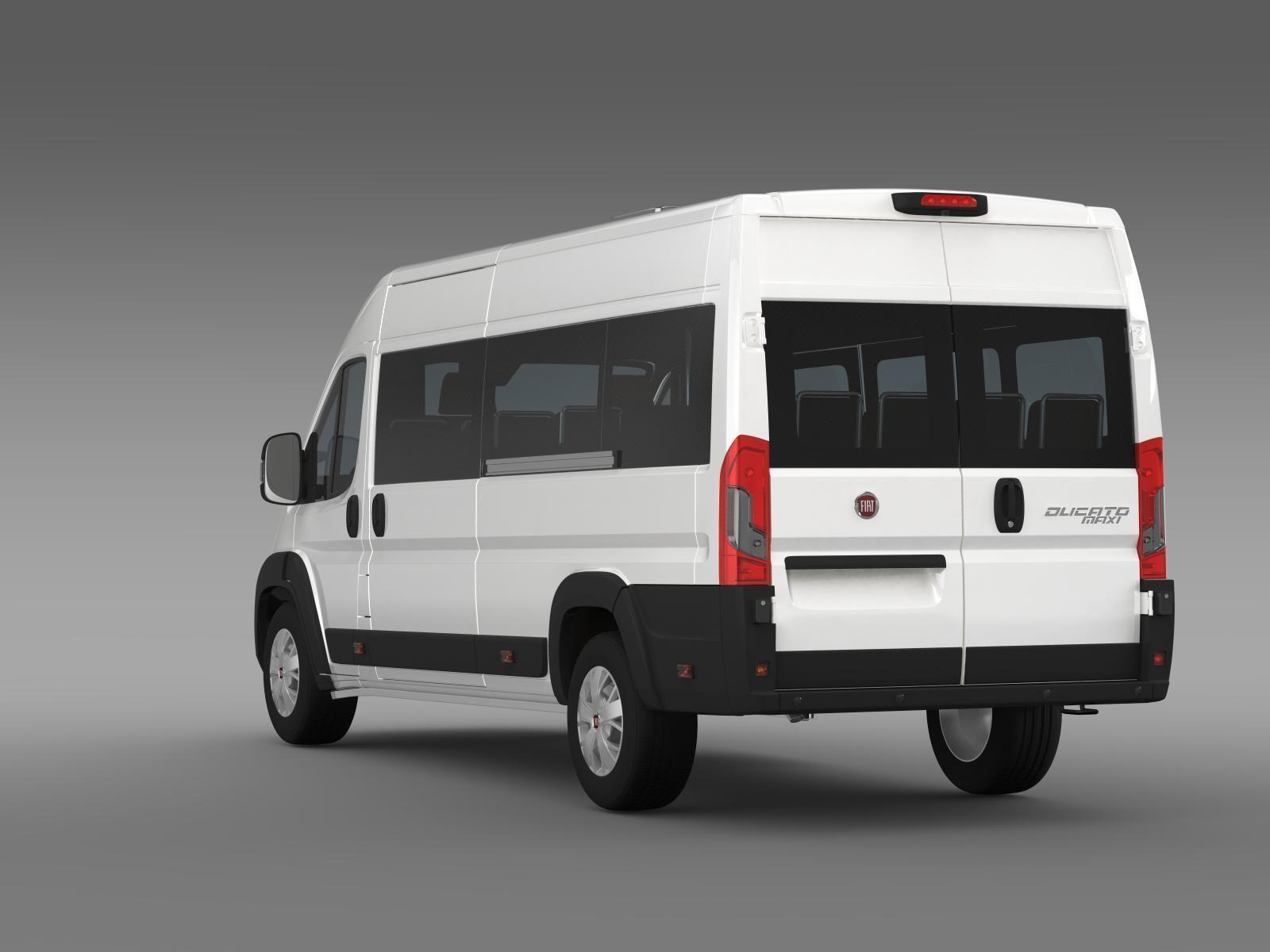 fiat ducato scuolabus 2015 3d model max obj 3ds fbx c4d lwo lw lws. Black Bedroom Furniture Sets. Home Design Ideas