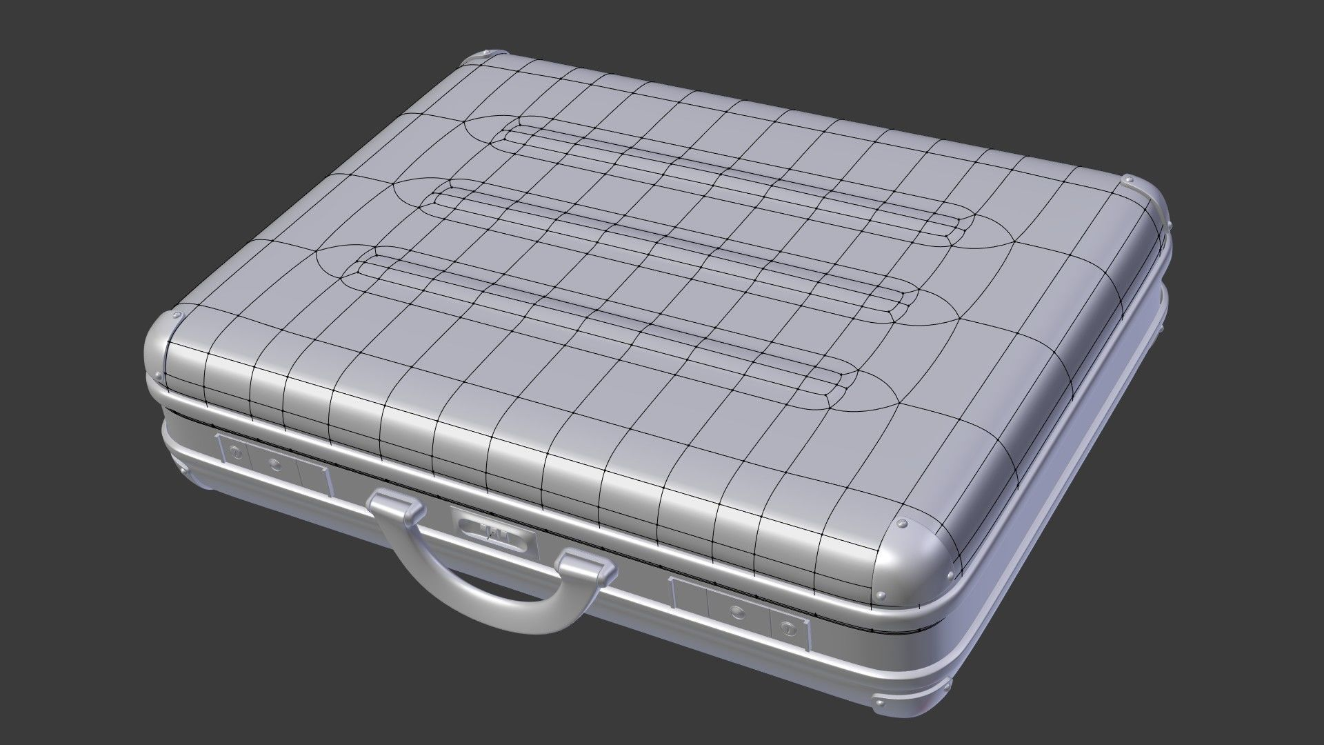 Case box modeling for subdiv