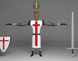 3D model Crusader