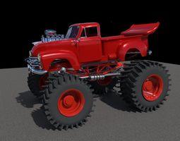 Chev Monster Truck 3D model