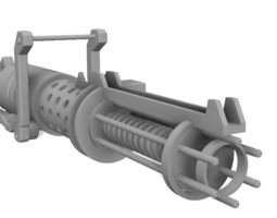 3D printable model Z-6 Rotary Blaster Cannon - The Clone