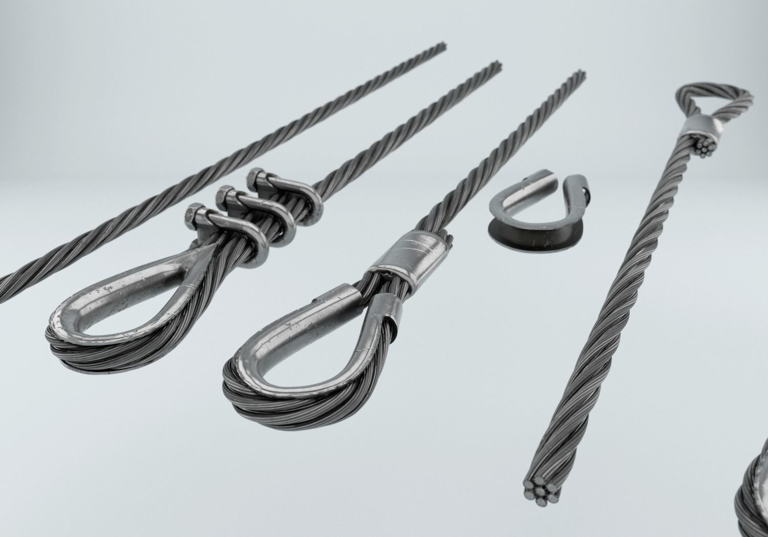 Steel Wire Rope 3d Model - WIRE Center •