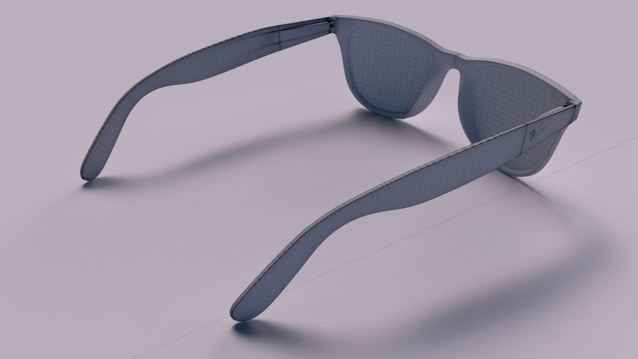 75041c2cb3 ... ray ban wayfarer 3d model max obj mtl fbx 5 ...