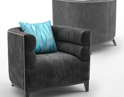 3D model Giovani - Occasional Armchair