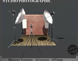 3D asset Studio Photography