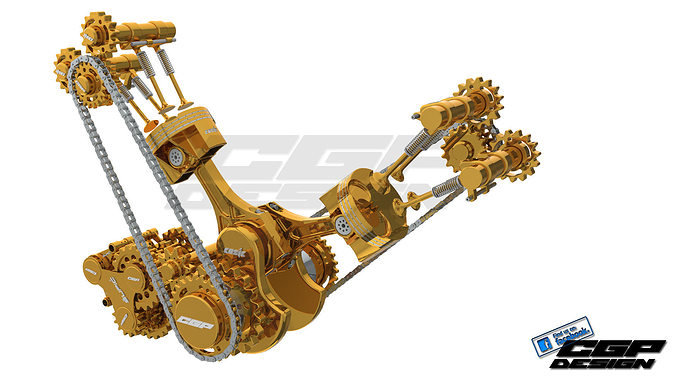 pinki engine heartdesigned by cosic 3d model sldprt sldasm slddrw ige igs iges 1