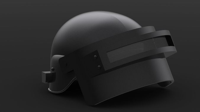 Pubg Helmet: 3D Print Model PUBG Helmet Level 3