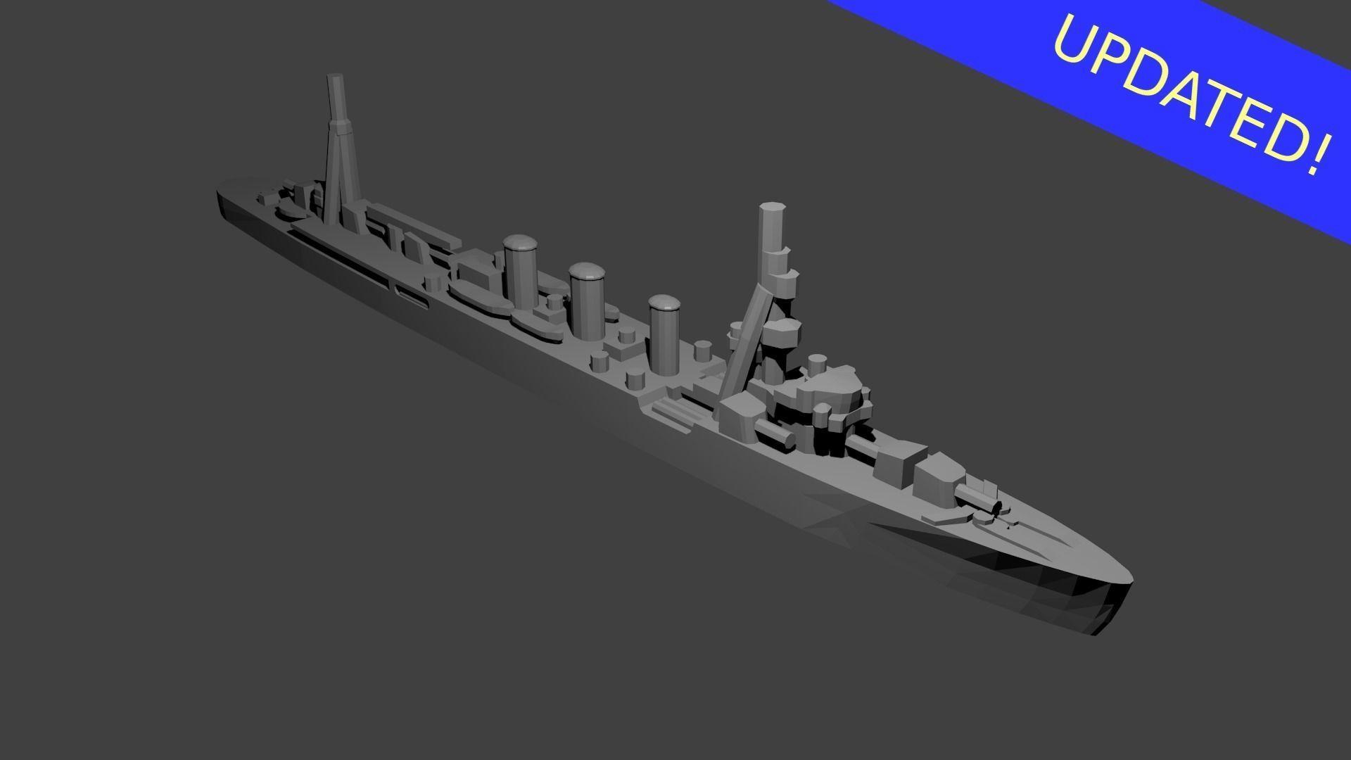 Japanese Kuma Class Cruiser