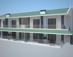3D Modern Villa realistic