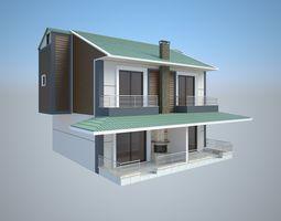 luxury 3D Hi Res Model of a Villa