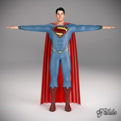 SUPERMAN 20133D model