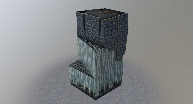 amsterdam the rock 3d model low-poly max obj mtl 3ds fbx 1