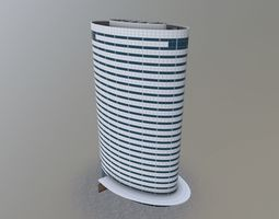 Amsterdam Oval Tower 3D model