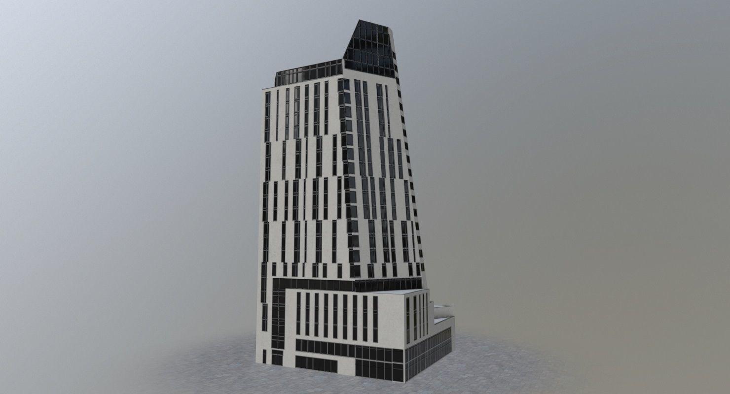 London Office Building | 3D model