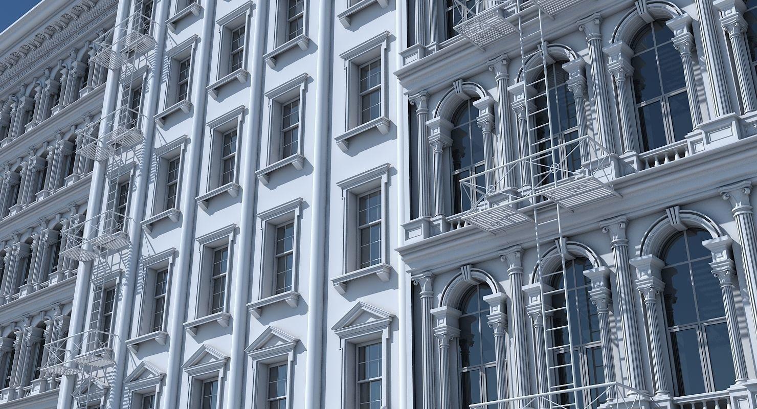 Commercial Building Facade 17