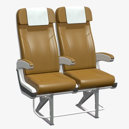 airplane chair v2 3d model max obj mtl 3ds fbx c4d tbscene tbmat 1