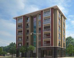 3D model Colorful Apartment