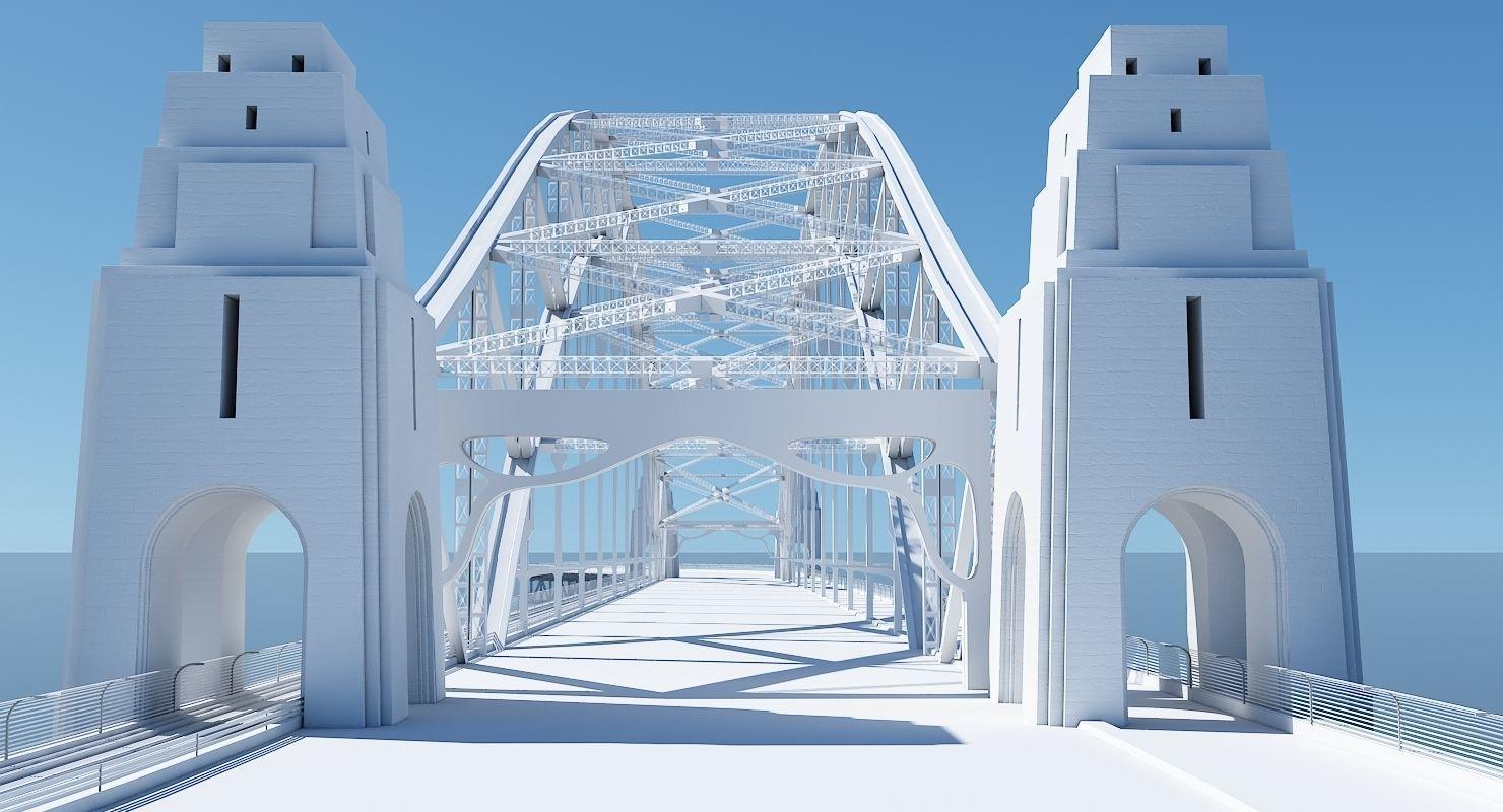Harbour Bridge 3D Model