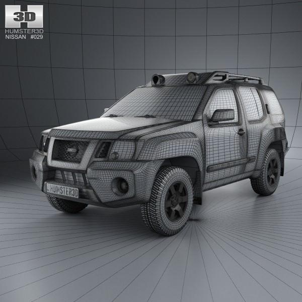 3d Nissan Xterra 2012 Cgtrader