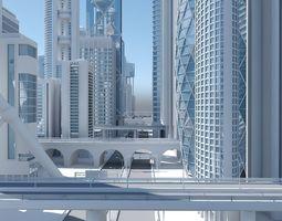 High Definition City 3D model