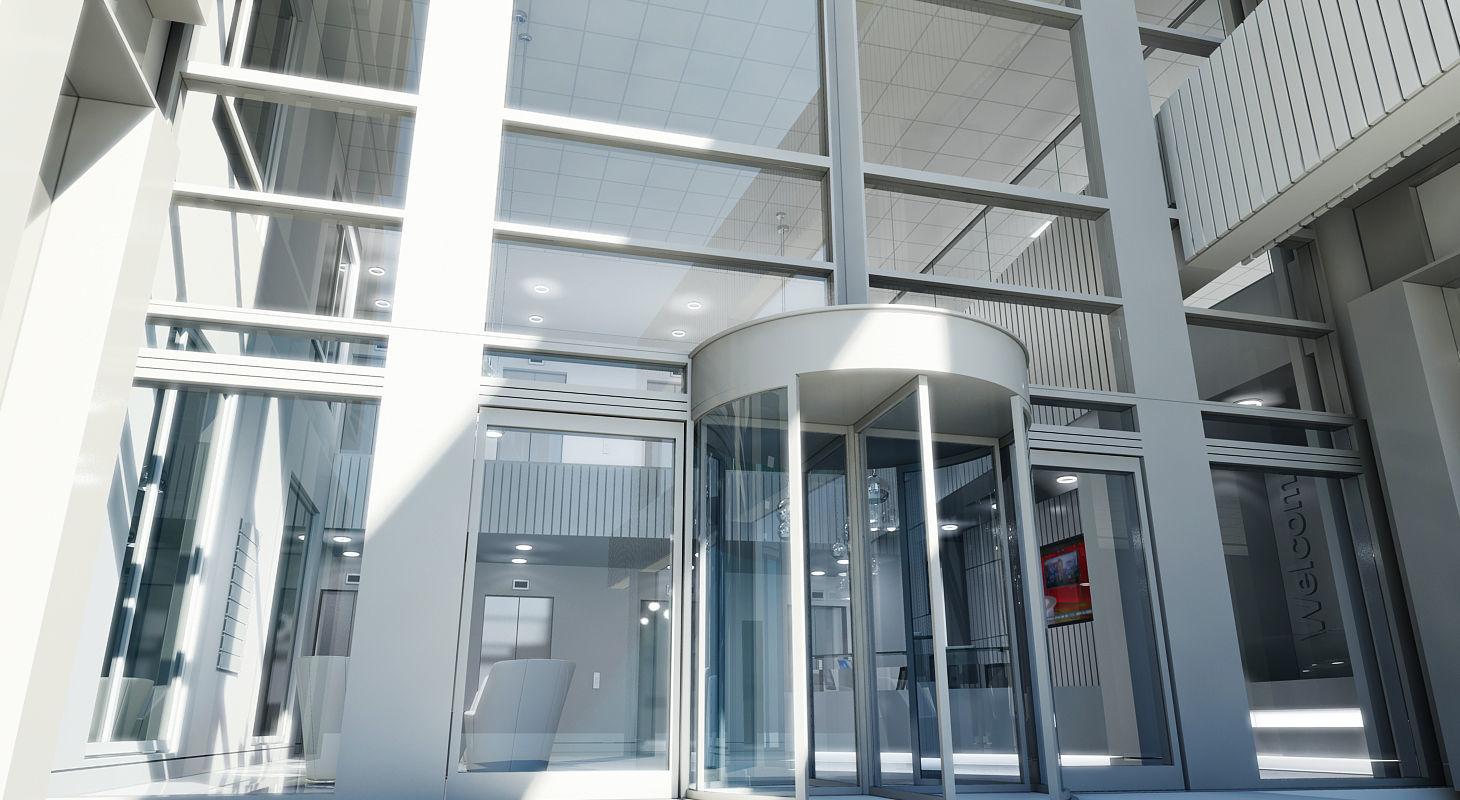 Office Interior Reception 3