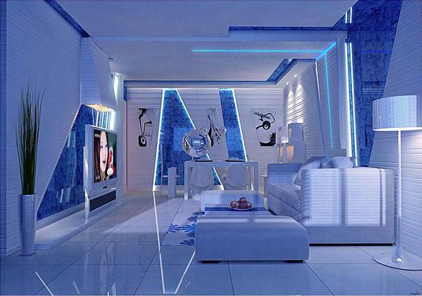 454 Living room3D model