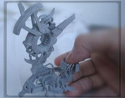 cloud atlas miniature 3d print model