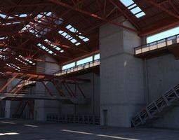 Warehouse Interior 03 3D