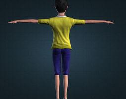 Nobita Fans Art 3D Model