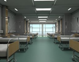 Recovery room 2 3D model