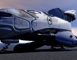USS Calipso Shuttle 3D Model