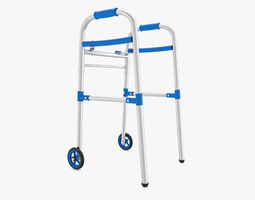 3D Medical - Paddle Walker with Wheels