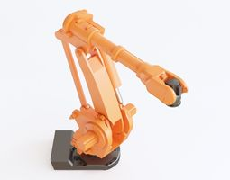 Industrial robot 02 3D model
