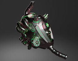 3D ROBOT HEART