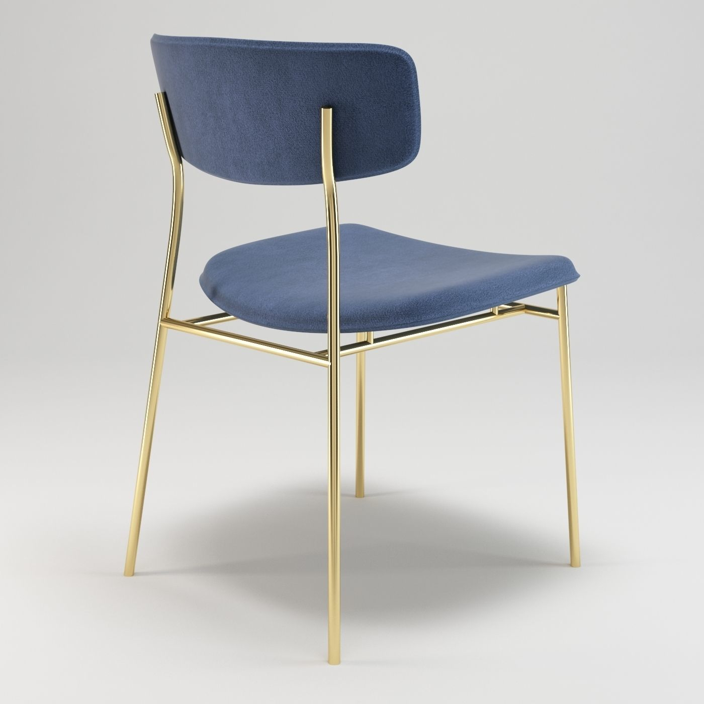 ... Calligaris Fifties Chair 3d Model Max Fbx ...