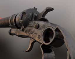 3D model Shotgun Pistol
