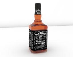 bottle Jack Daniels Bottle 3D