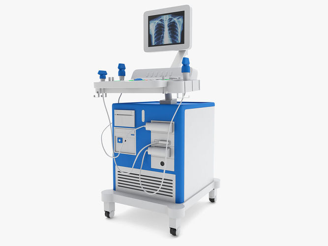 medical - ultrasound system 3d model max obj mtl 3ds fbx c4d ma mb 1