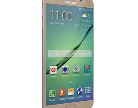 3D model SAMSUNG GALAXY A9 PRO 2016 GOLD