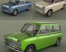 Morris Mini Collection 3D Model