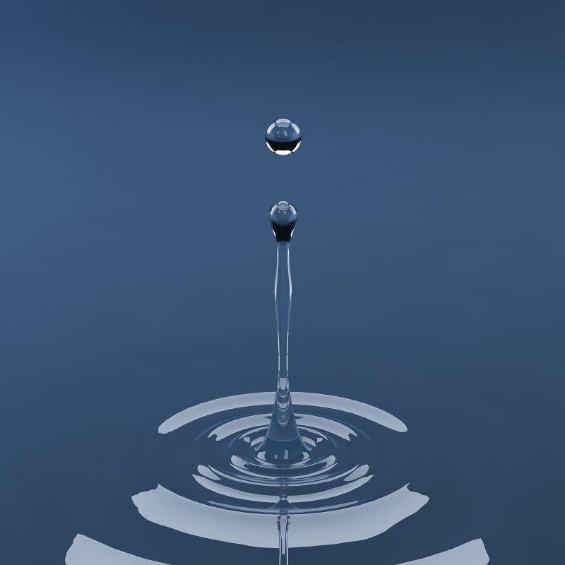 Splash water drop 15