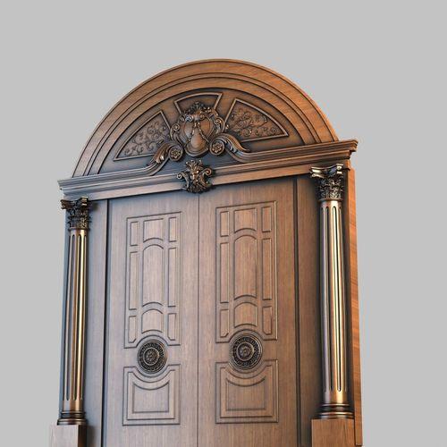 Door 00123D model