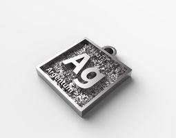 3D printable model pendants Argentum pendant