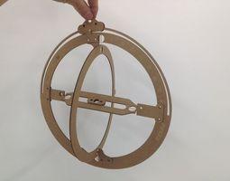 3D printable model sundial