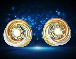 Earring carrie jewelry model for printable beautifule