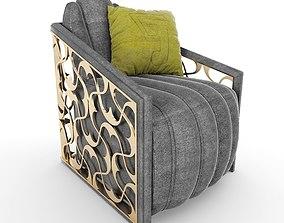 Geo Arm Chair 3D model