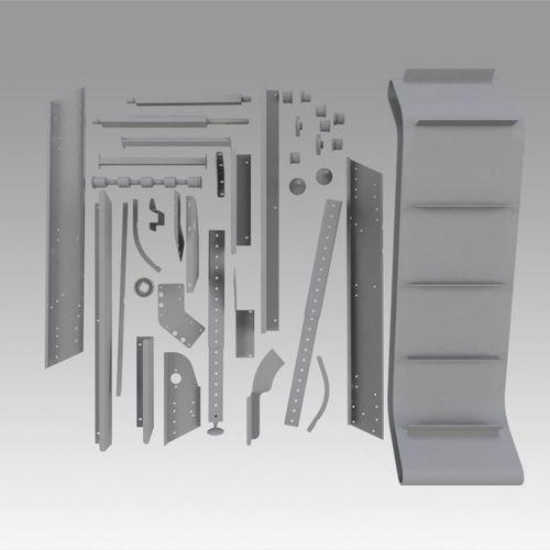 engineering parts for conveyors 3d model max obj mtl fbx stl dwg ige igs iges 1