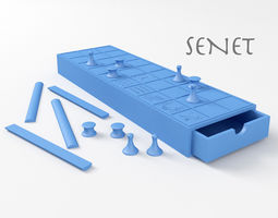 3D print model Senet Ancient Egyptian Board Game